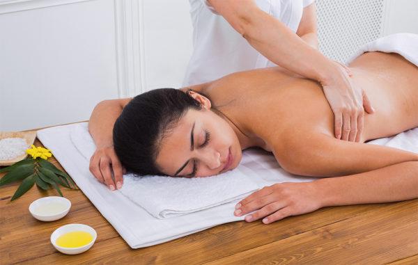 Massage relaxant à la carte