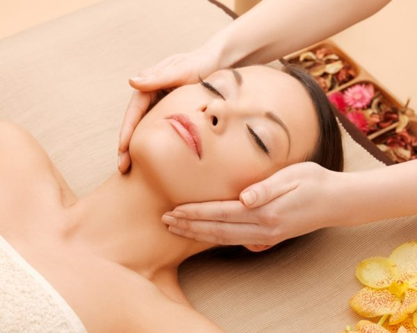 Massage visage Active lift